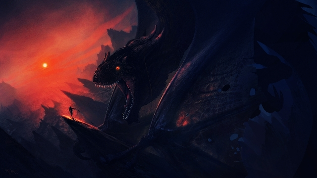 Stunning Dragon Wallpaper 13