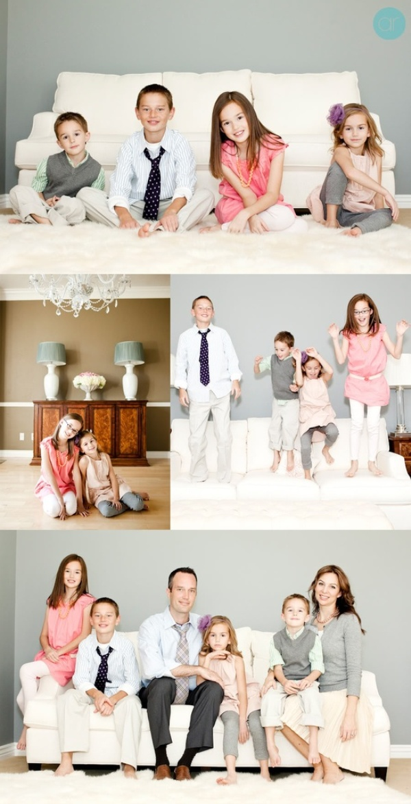 20 lovely creative ideas for family portraits inspirebee for Family of 4 picture ideas