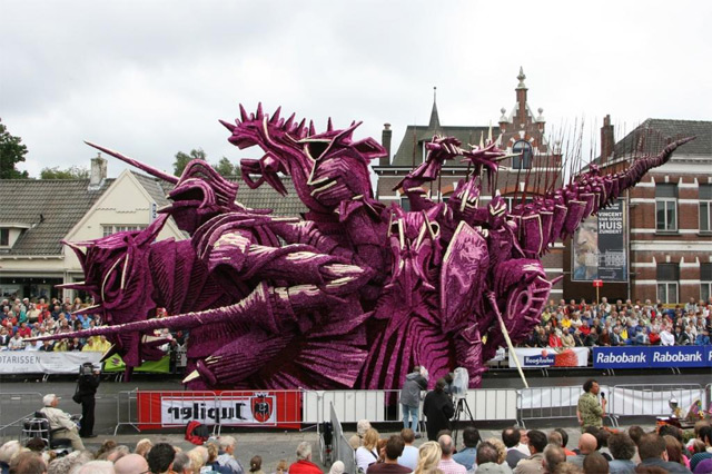 Bloemencorso: A Flower Parade in the Netherlands