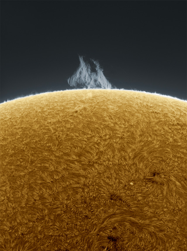 Spectacular High Definition Sun Photograph - 5