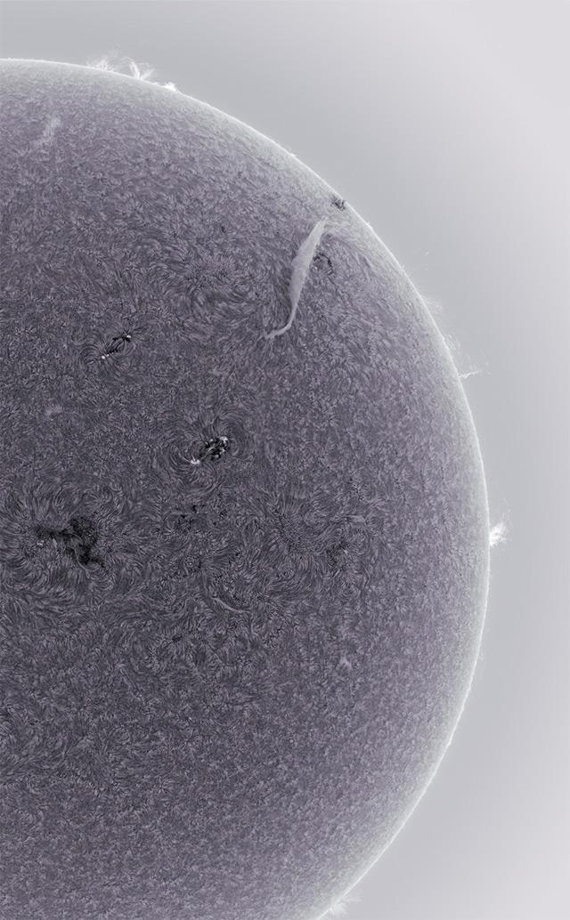 Spectacular High Definition Sun Photograph - 8