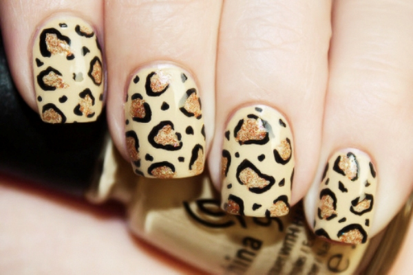 Leopard Print Gold