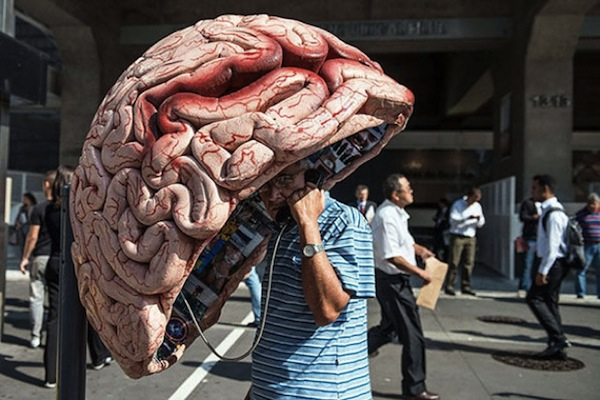 Brain Phone Booth