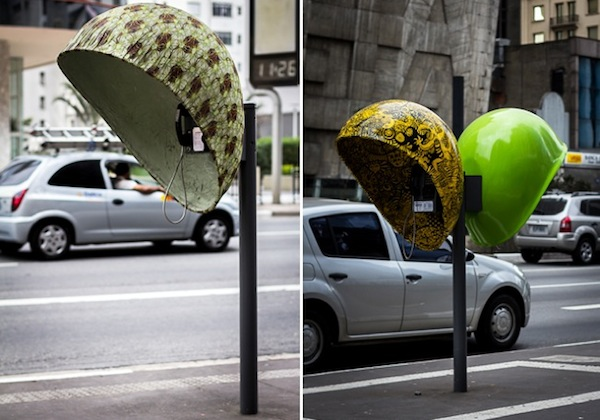Creative Phone Booth