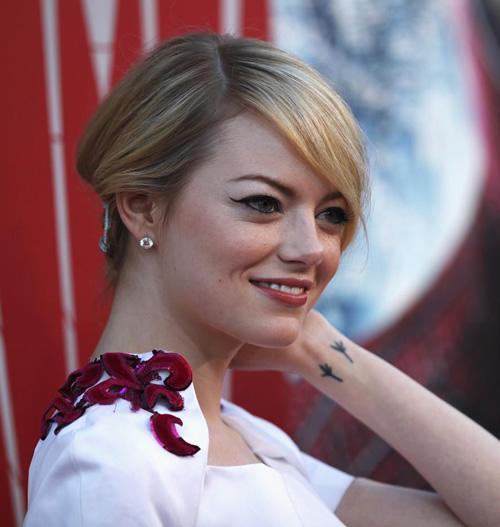 Emma Stone Wrist Tattoo