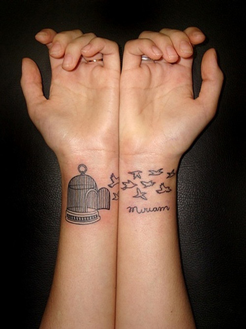 43 inspiring wrist tattoos and graphics inspirebee for Inspirational wrist tattoos