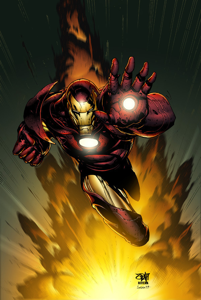 Iron Man Illustration - 1