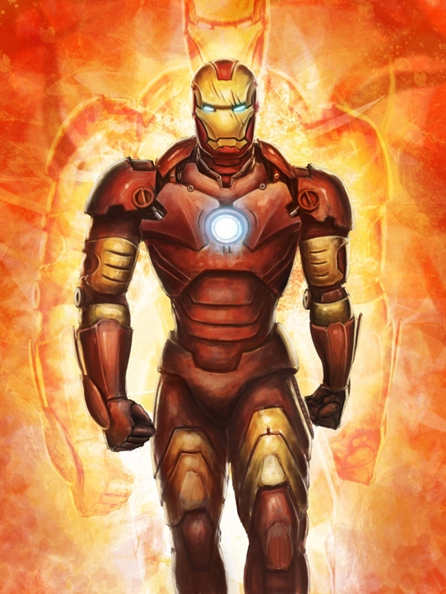 Iron Man Illustration 15