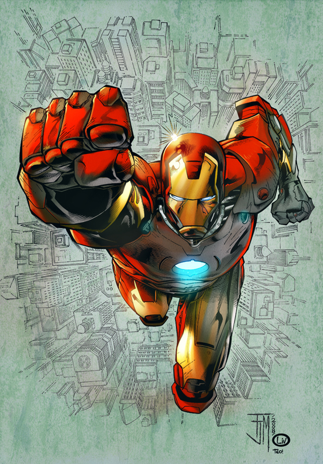 Iron Man Illustration 17