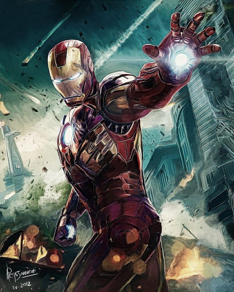Iron Man Illustration 18