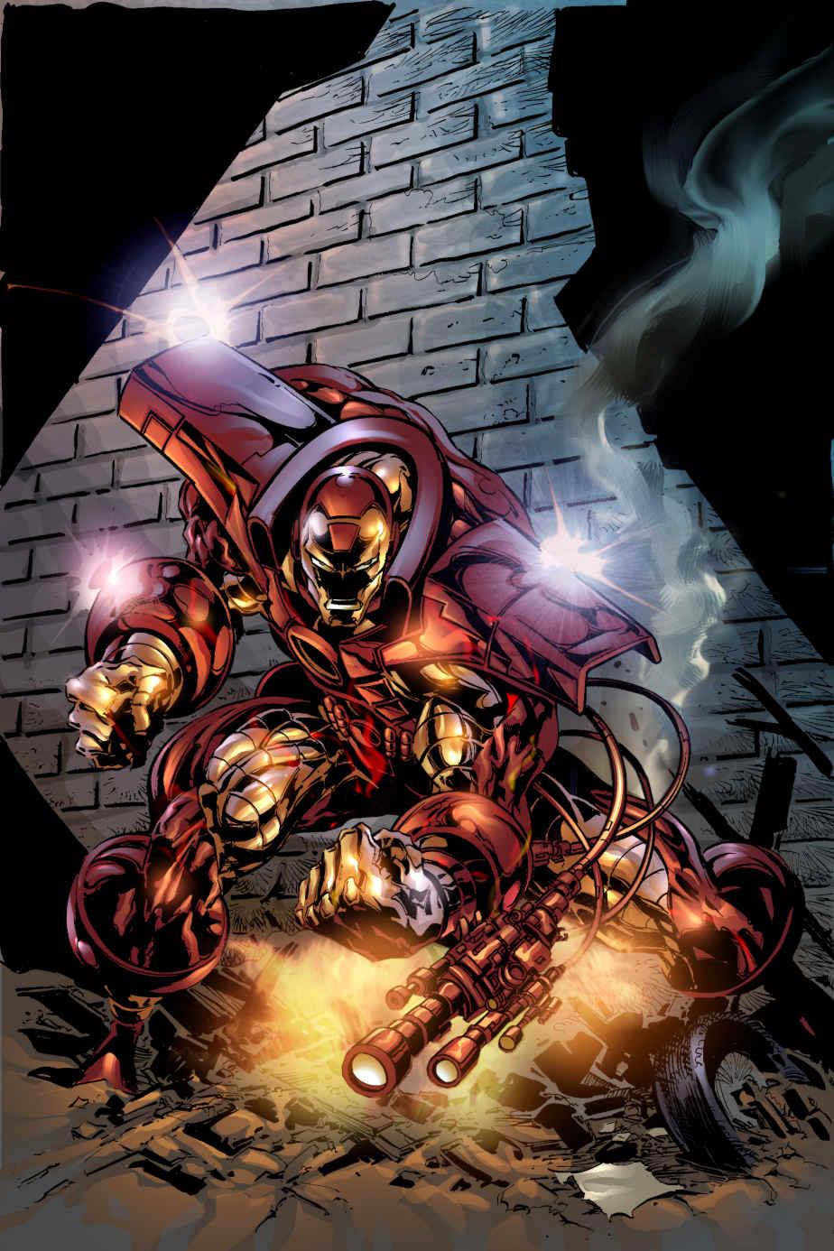 Iron Man Illustration 20