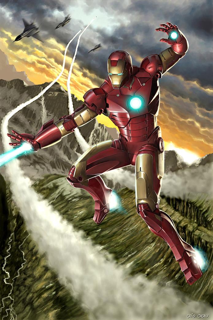 Iron Man Illustration 6