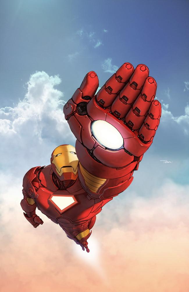 Iron Man Illustration 8