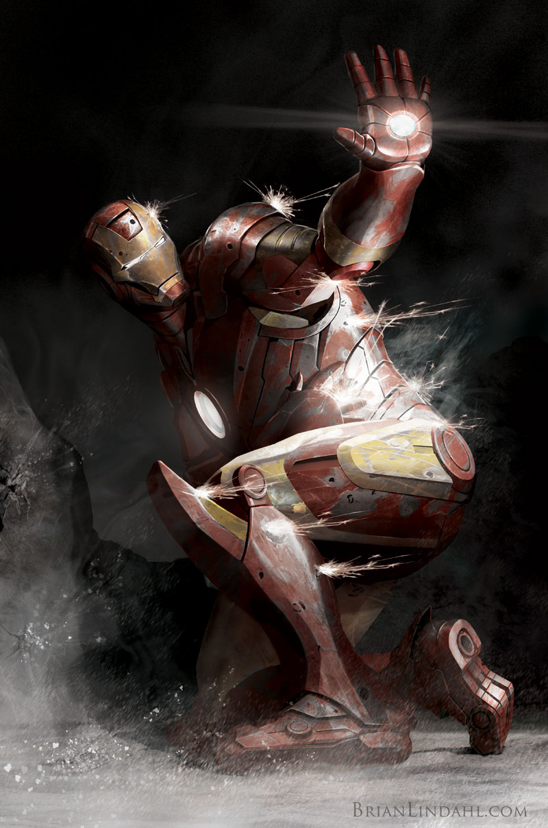 Iron Man Illustration 9