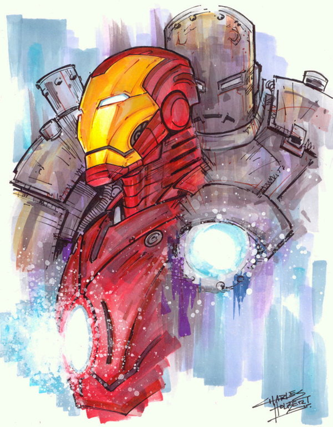 Iron Man Marker