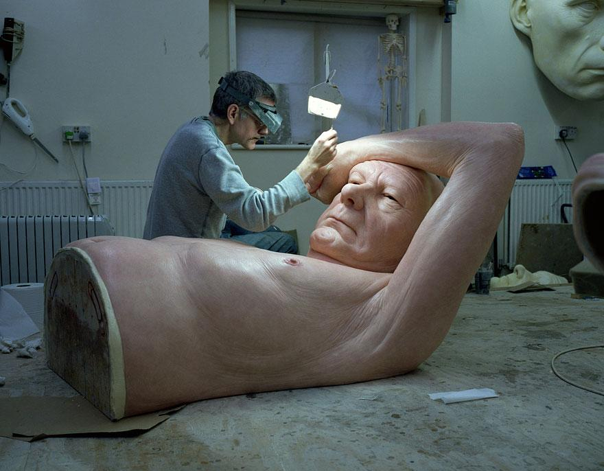 Ron Mueck Sculpture - 1