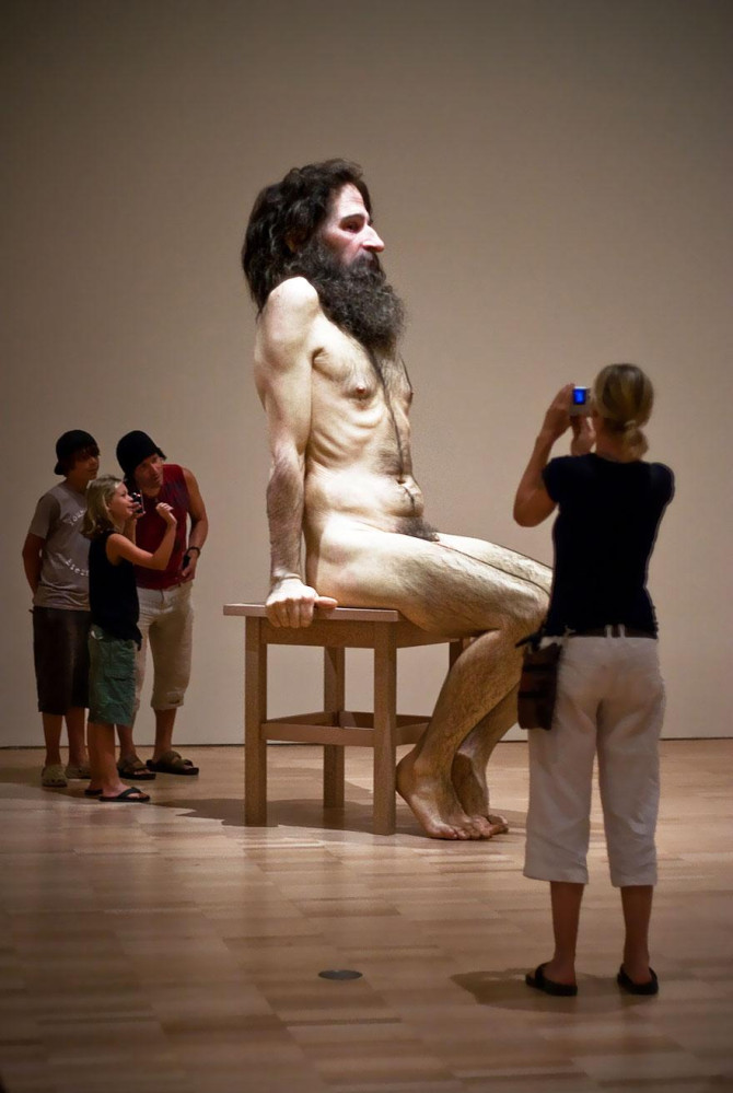 Larger Than Life Sculptures by Ron Mueck