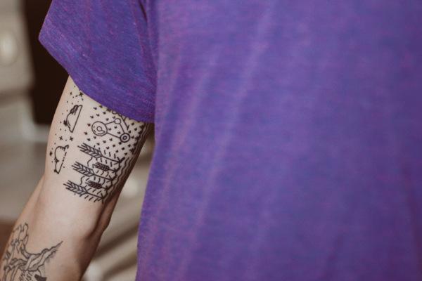 Minimal Tattoo 2