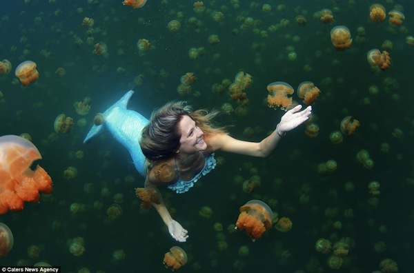 Real Life Mermaid - 2