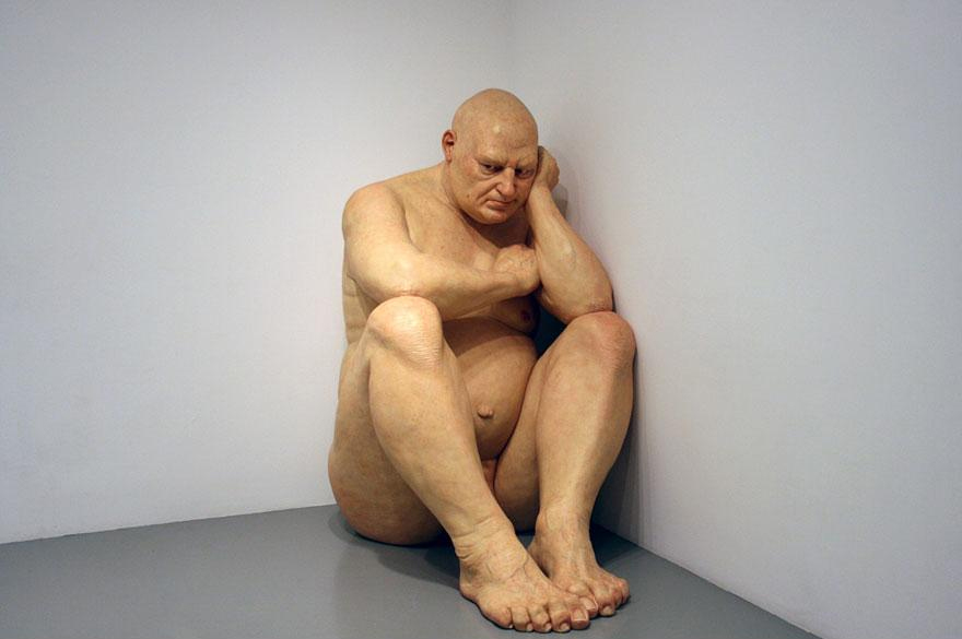 Sitting Sculpture