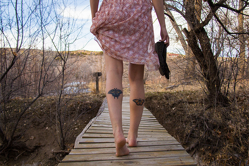 Tattoo on Leg