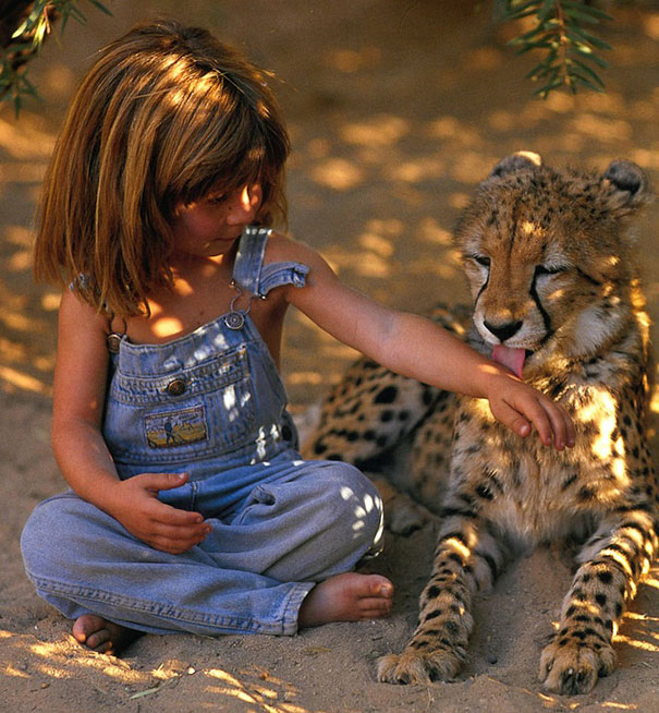 Tippi and Leopard