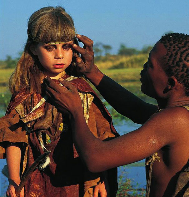 Tippi and Africa