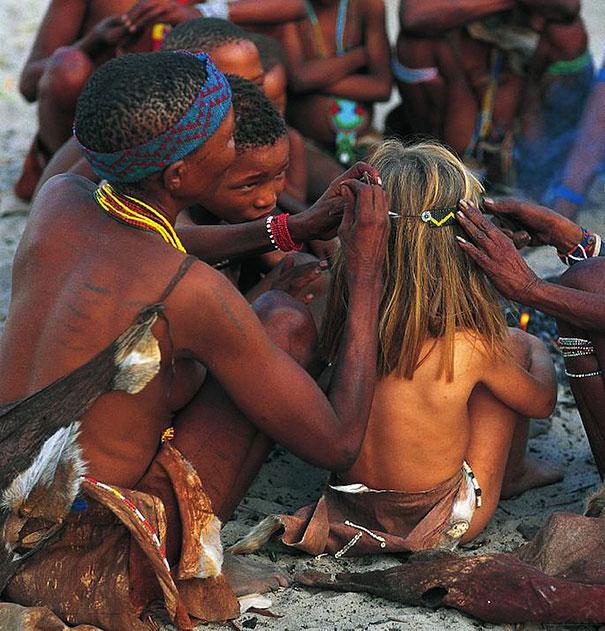Tippi in Africa