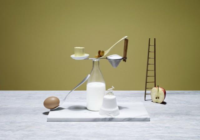 Elena Mora's Meal Sculpture