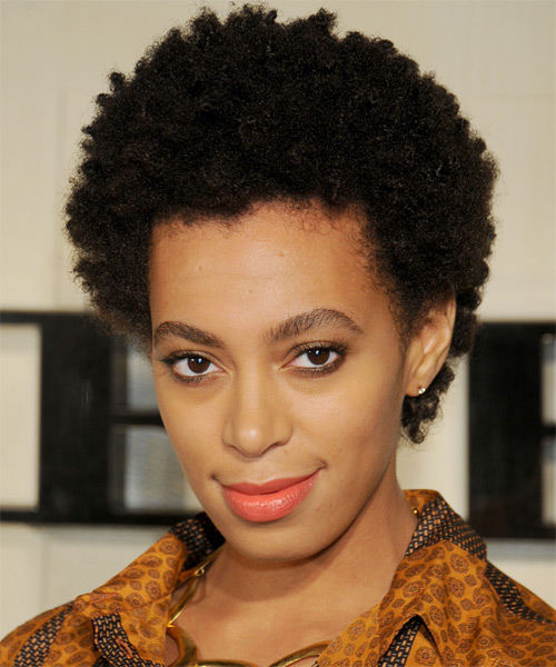 Solange Knowles Hairstyle