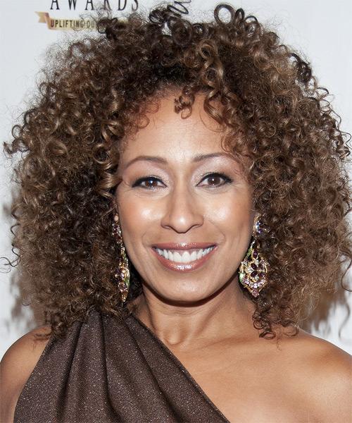 Tamara Tunie Hairstyle