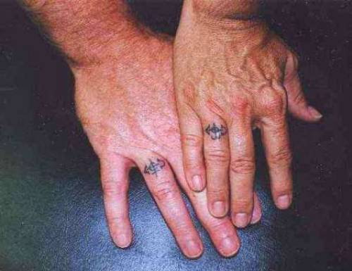 Old Couple Tattoo