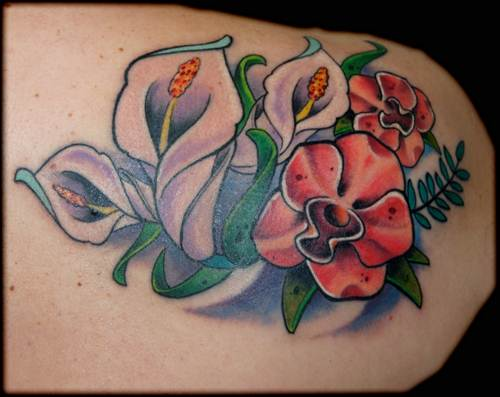 Flower Tattoo 24