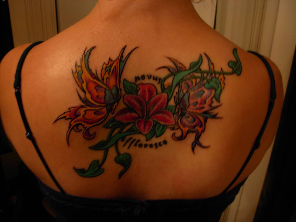 Flower Tattoo 5