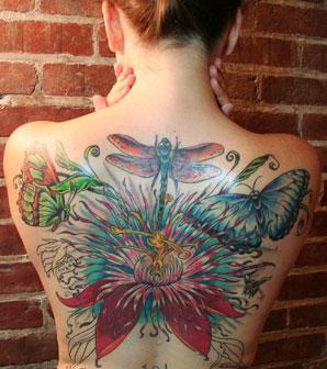 Inking Petals – Flower Tattoos