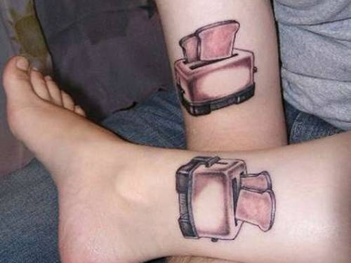 Toaster Tattoo