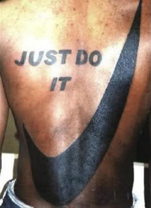 Just do It tattoo