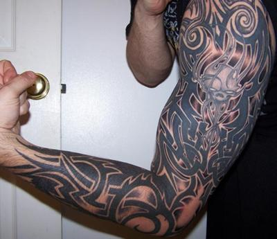 Gothic Sleeve Tattoo