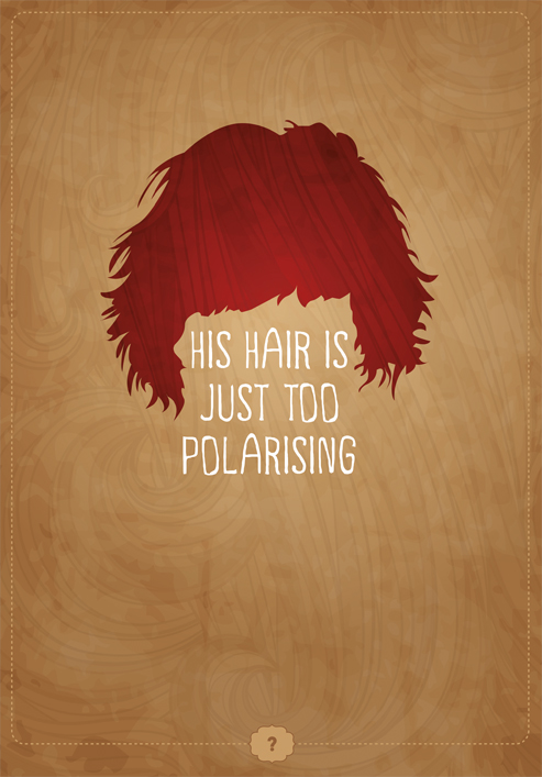 Polarising Hair