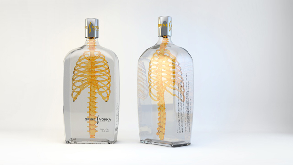 Spine Vodka Design