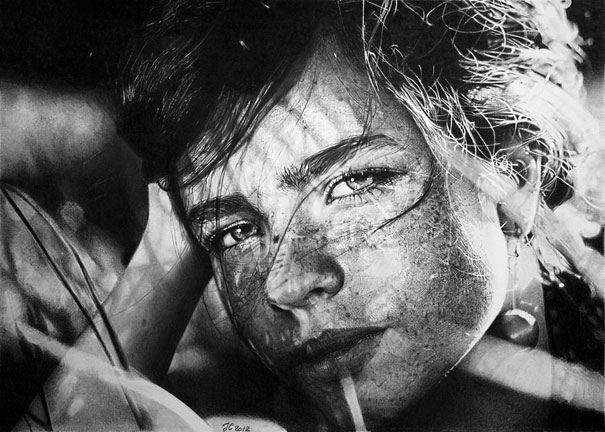 Pencil Drawings by Franco Clun
