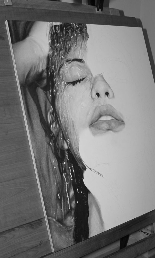 Pencil Art by Diego Fazio