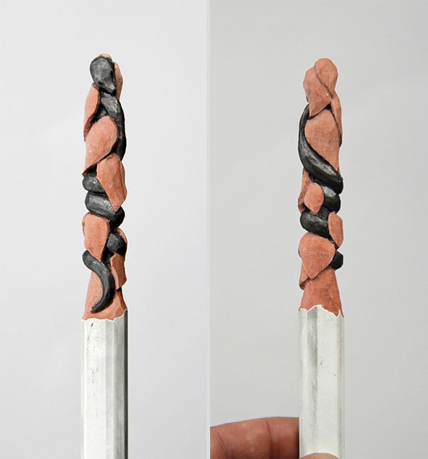 Pencil Sculptures by Diem Chau