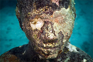 The Amusement of Under Water Sculpture